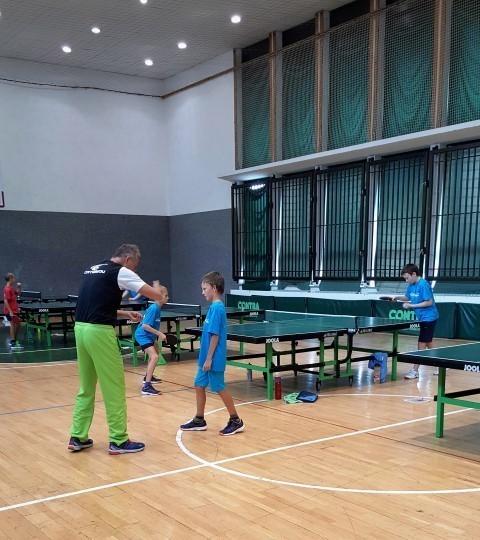 Priprave v namiznem tenisu Ravne na Koroškem, Dvorana IZZIV IN DTK