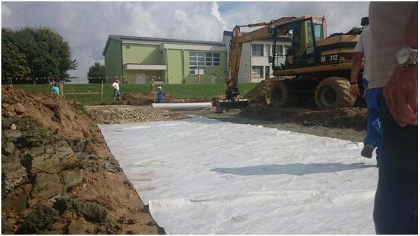 Novogradnja košarkaškega igrišča pri osnovni šoli Križevci