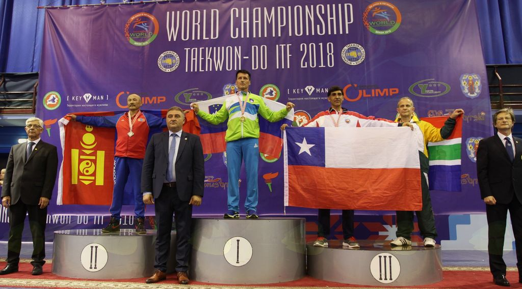 Ismet Ičanović - svetovni prvak veterani do 80 kg