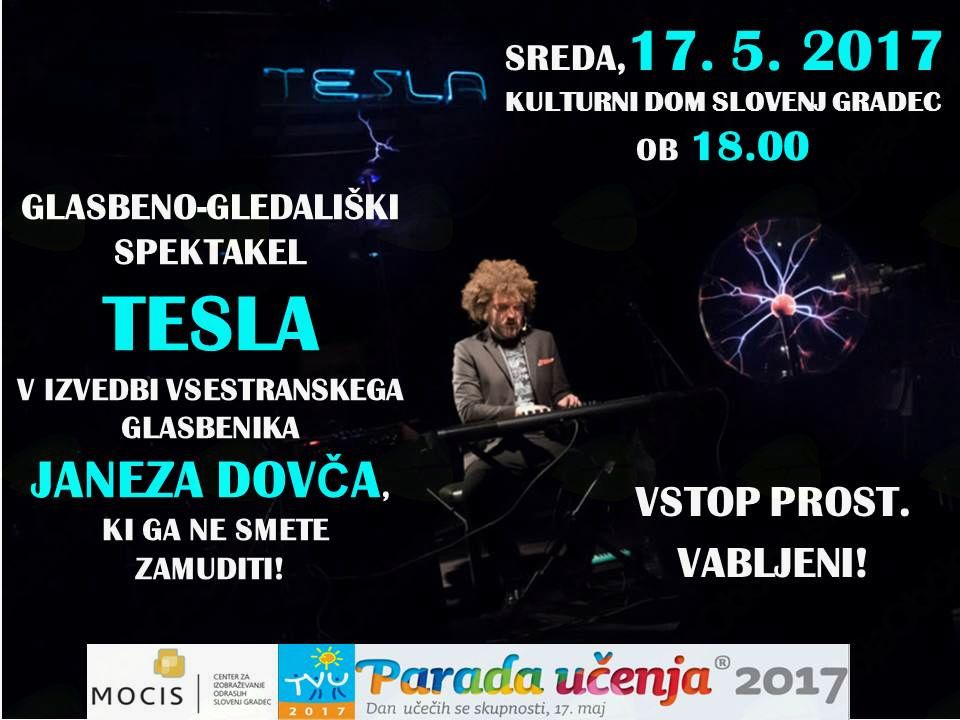 Glasbeno-gledališki spektakel TESLA