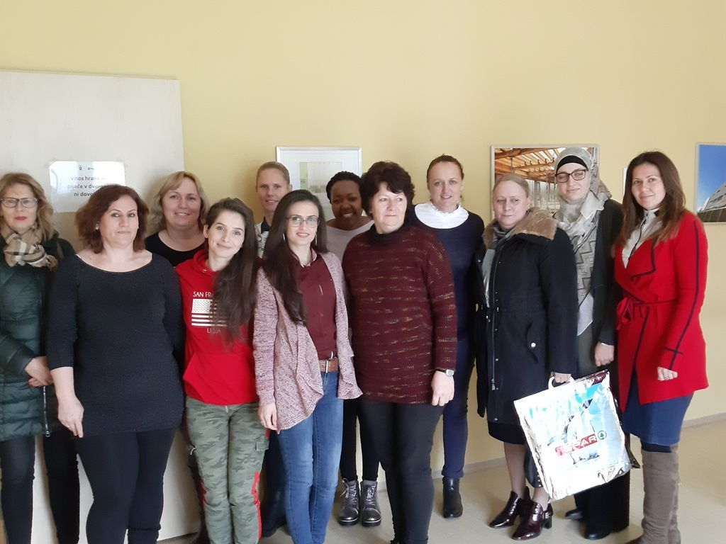 Udeleženke programa Integracija na trg dela