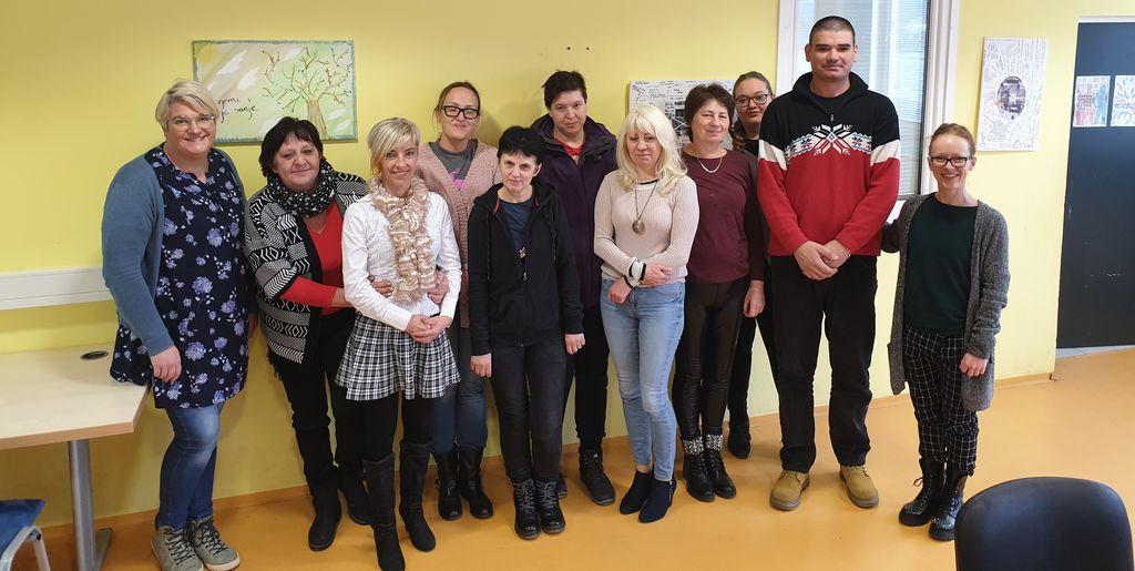 Udeleženci programa Podpora ranljivim skupinam na trgu dela