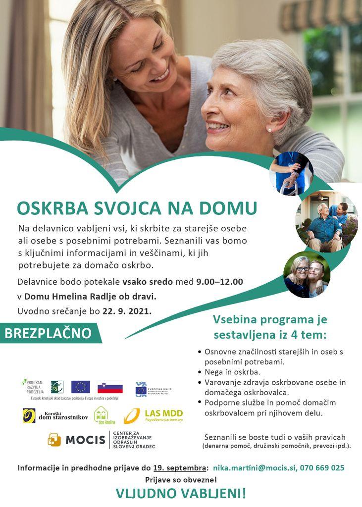 Program: Oskrba svojca na domu