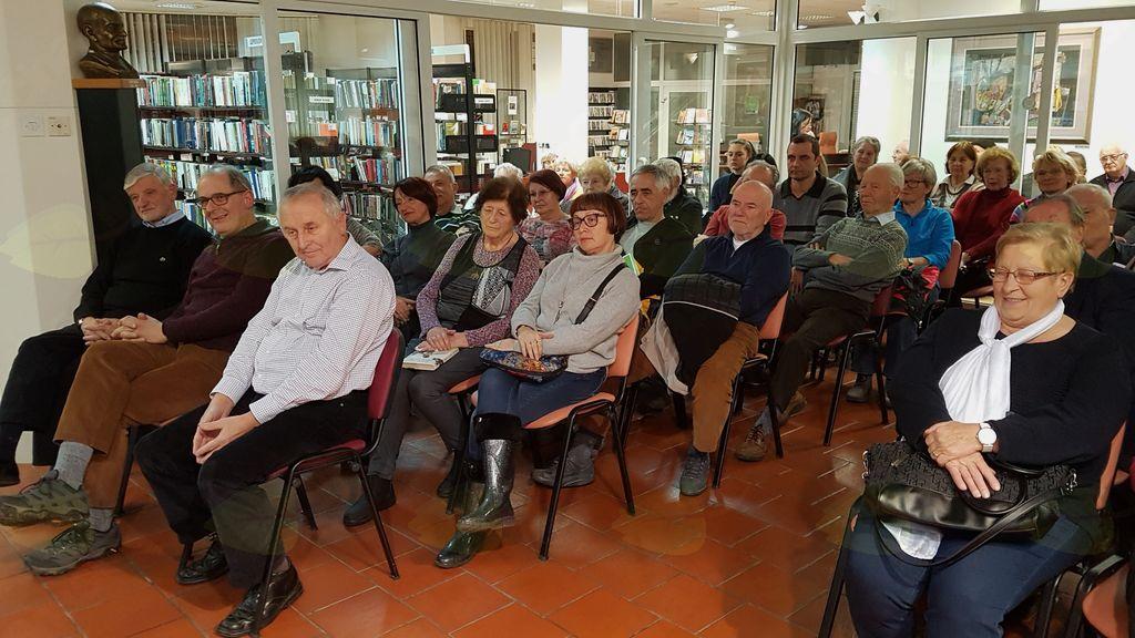 SREČANJA Z ZNANIMI OSEBNOSTMI 2018: Predavanje Branka Sobana v knjižnici Ksaverja Meška