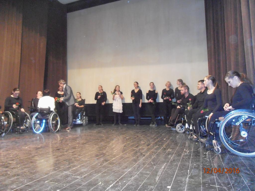 Proslava dneva invalidov