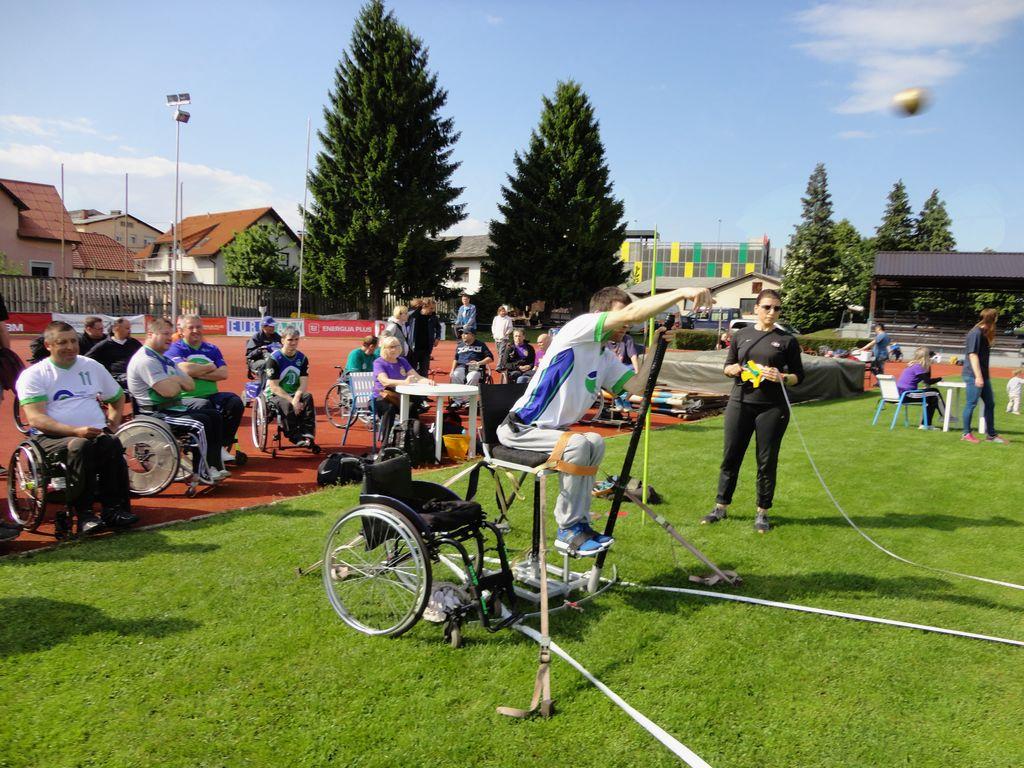 3. tekma lige v atletiki za paraplegike