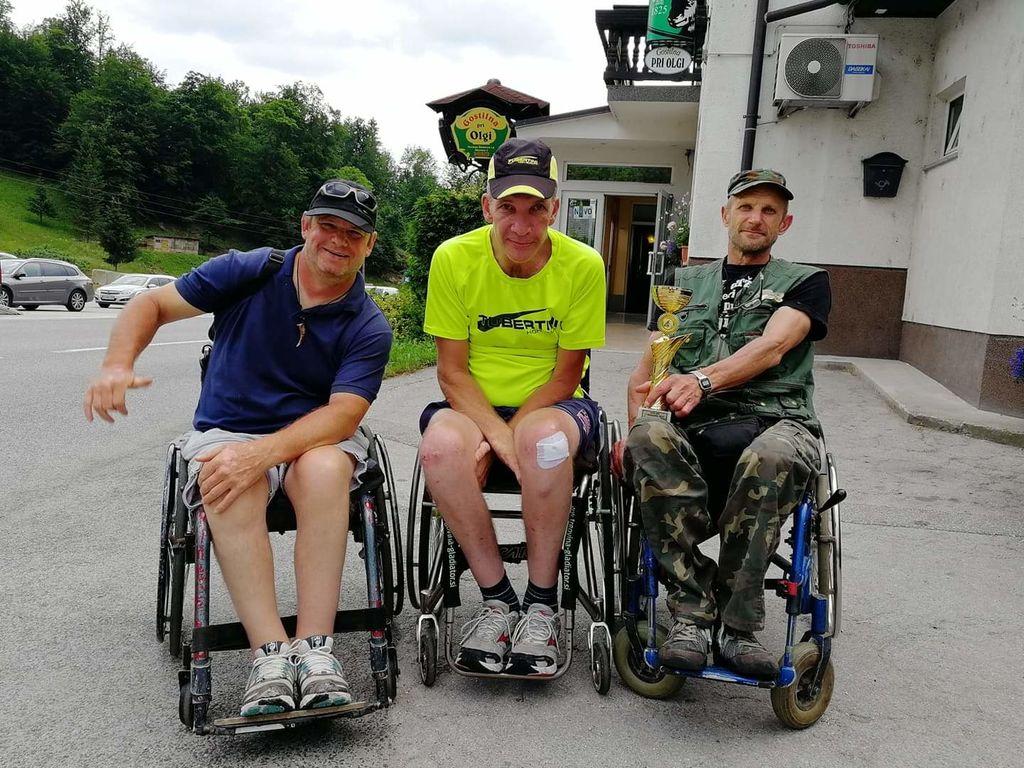 ekipa Društvo paraplegikov Koroške