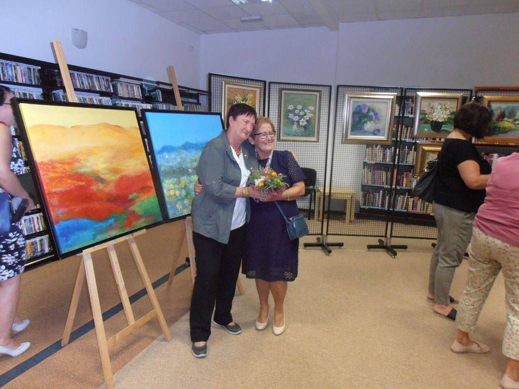 Otvoritev likovne razstave Tanje Hari Vidmar in predstavitev društva ILCO