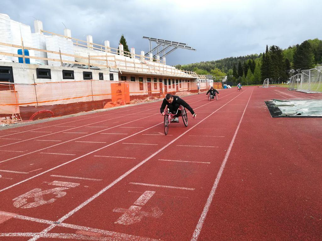 (Končno) zopet v boj – koroški paraplegiki v atletiki