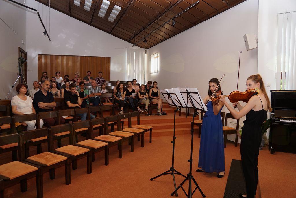 Poletni koncert – reciral Jureta Maliča in Sare Gorkič