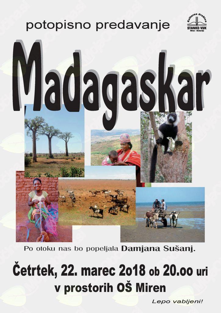 potopisno predavanje MADAGASKAR