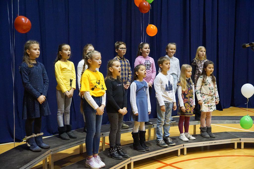 Otroški pevski zbor Podružnične OŠ Kostanjevica na Krasu