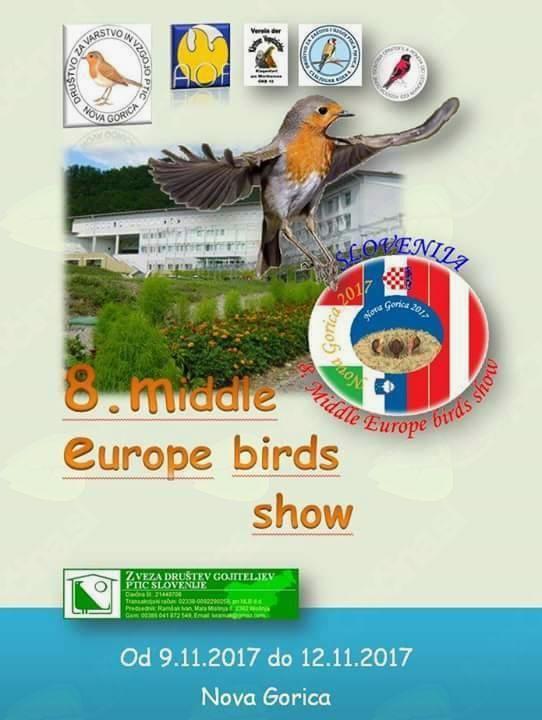 RAZSTAVA PTIC -  8. MIDDLE EUROPA BIRDS SHOW