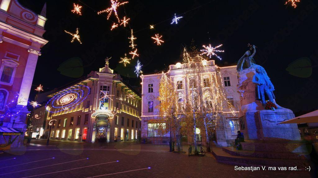 Ljubljana v najlepših čipkah ...
