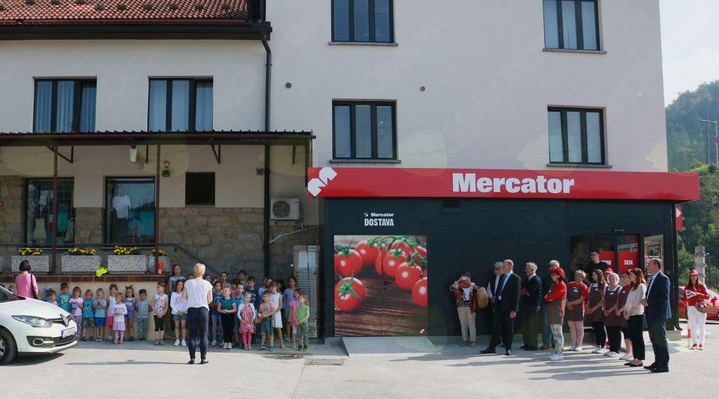 Mercator v novi podobi za desetino večji