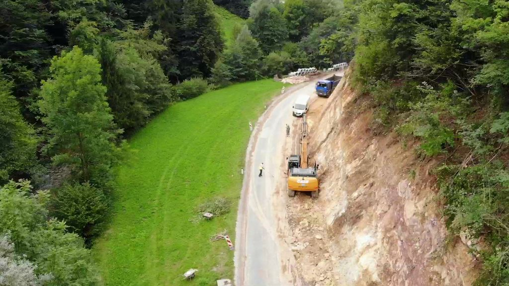 Bo prenovljena cesta ukrotila Gradaščico?