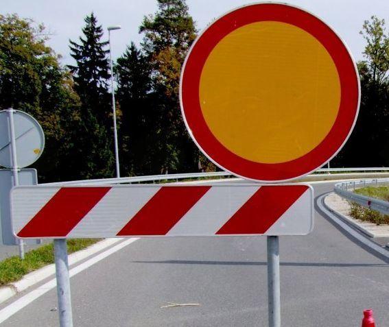 Zapora občinske ceste LC 168051 (Ladra - Libušnje - Krn)