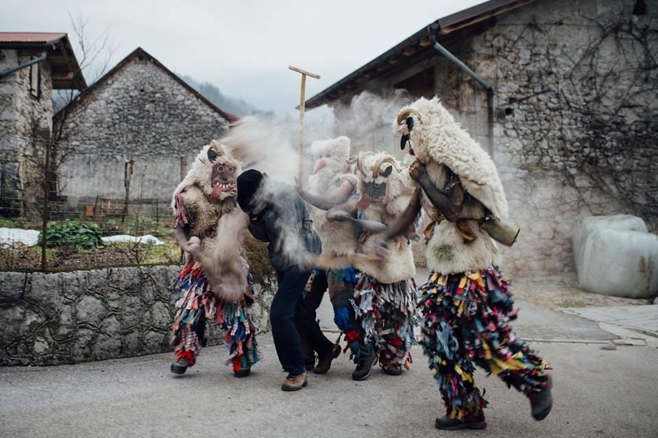 Predstavitev dokumentarnega filma Rawnsk pust 2016