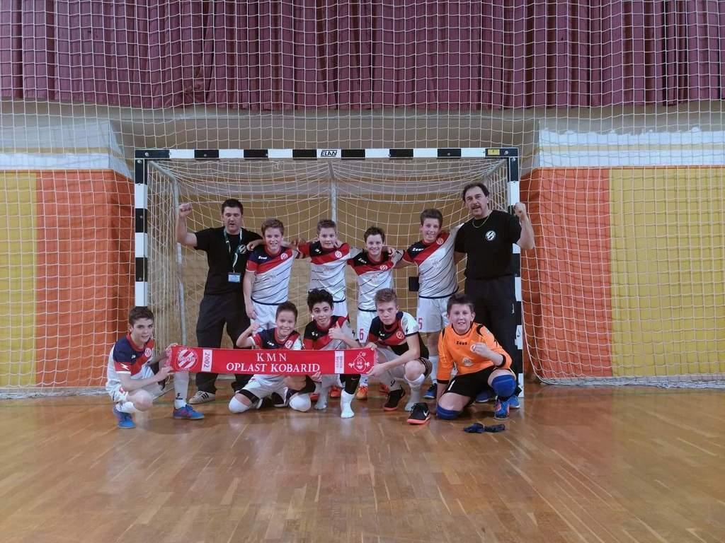 Povratna četrtfinalna tekma državnega prvenstva U-13 - KMN Oplast Kobarid:KMN Slovenske Gorice