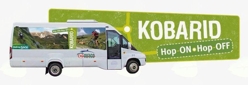 Na Kobariškem bo tudi to poletje vozil avtobus Hop-On, Hop-Off