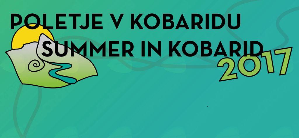 Program Poletja v Kobaridu 2017