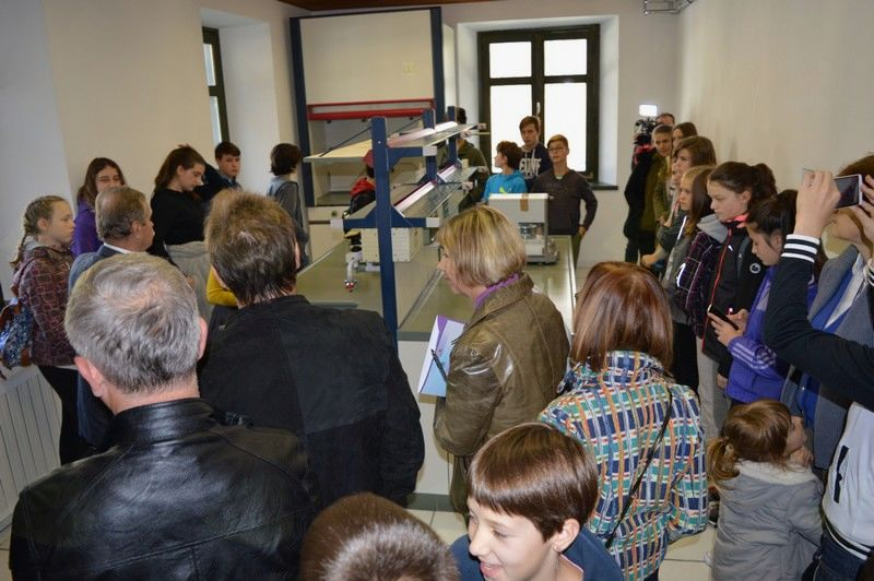 Odprtje laboratorija v Trenti