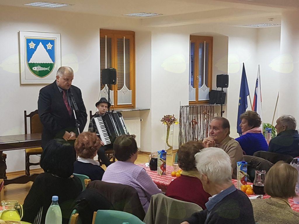 Srečanje starejših občank in občanov iz občine Kobarid