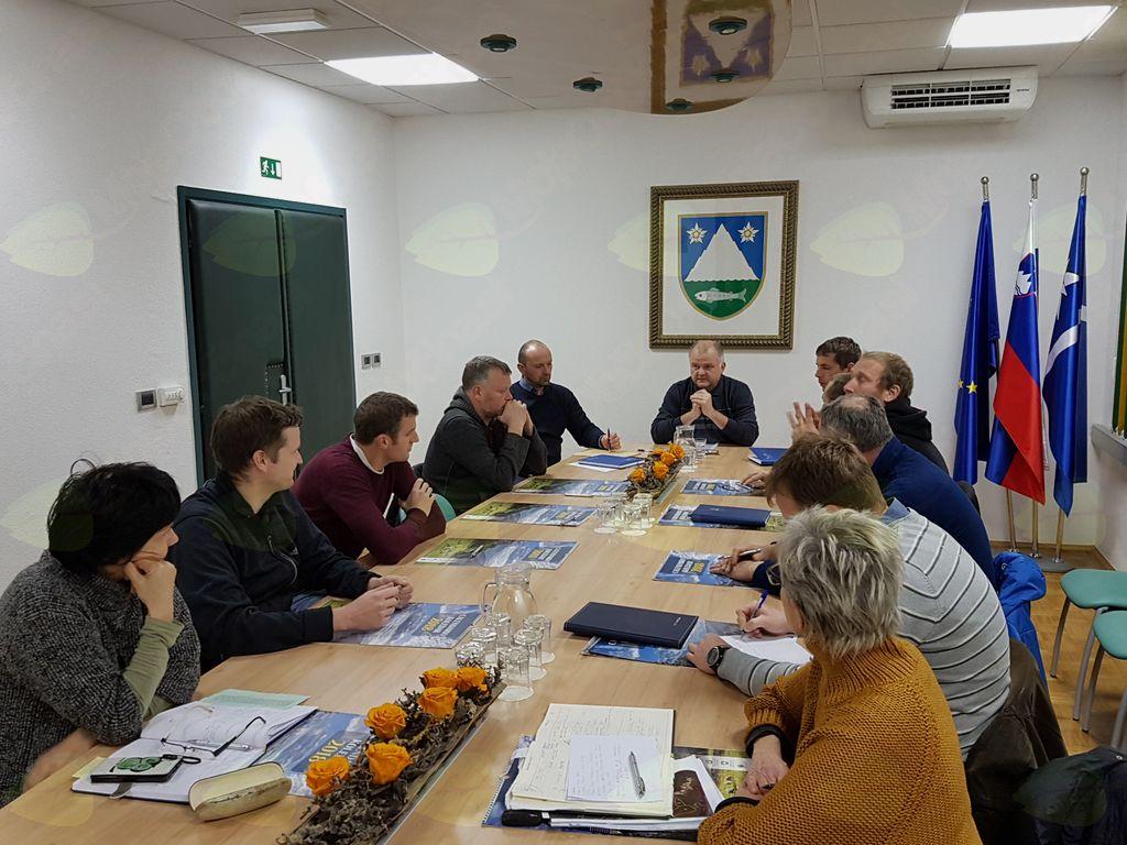 Letno srečanje s predsedniki krajevnih skupnosti iz občine Kobarid