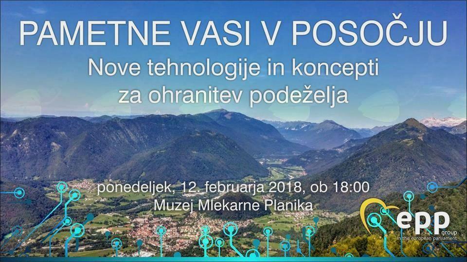 Pametne vasi v Posočju - nove tehnologije in koncepti za ohranitev podeželja