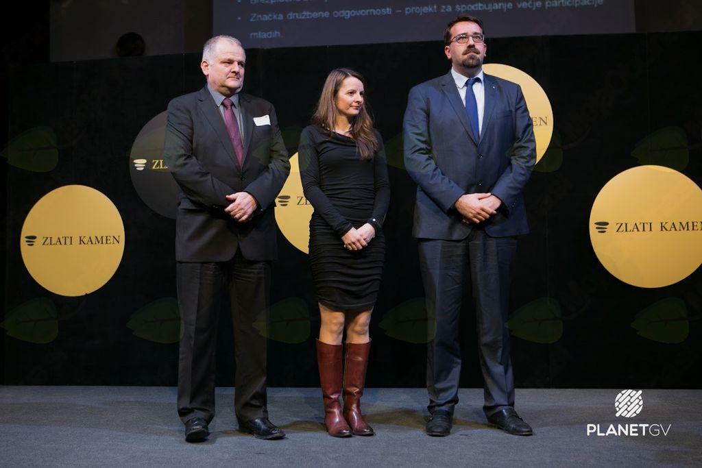 Finalistke za nagrado Zlati kamen 2018 iz zahodne Slovenije: Ajdovščina, Kobarid in Postojna.