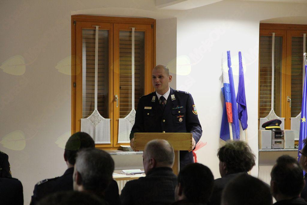 Novo vodstvo PGD Kobarid, predsednik Sašo Rosič. Foto: PGD Kobarid