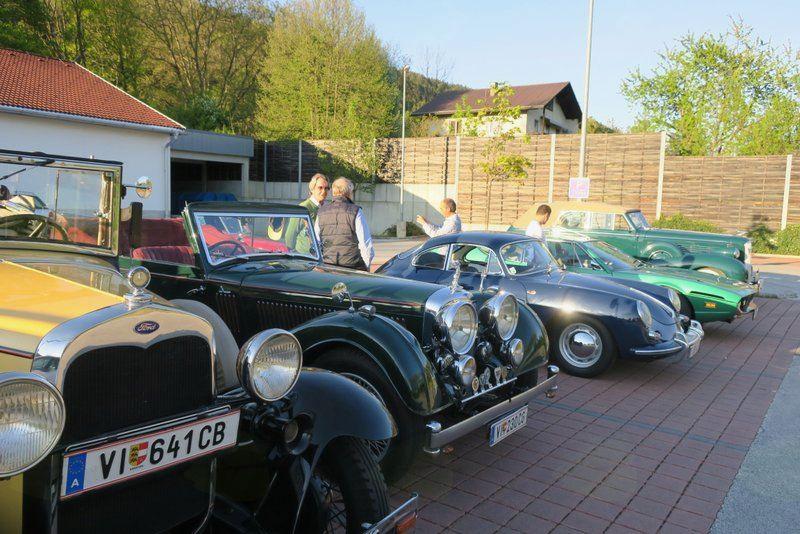 Ogled vozil Furlanskega kluba vintage vozil