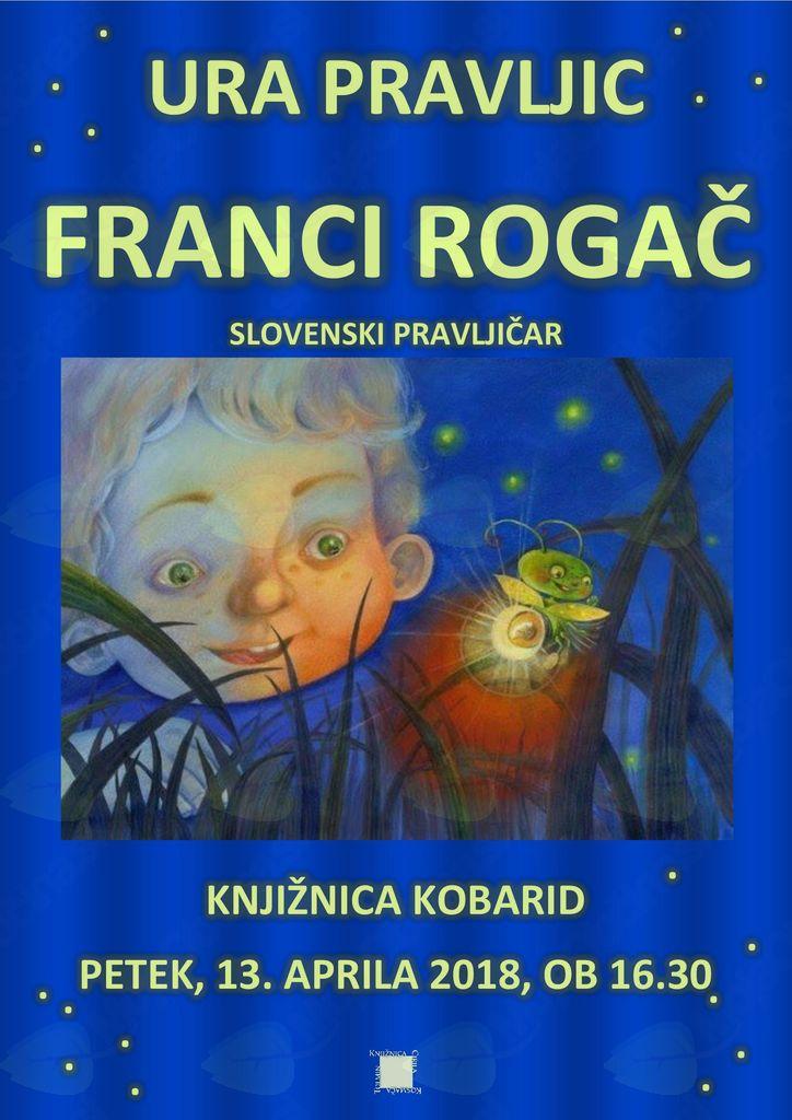 Ura pravljic s Francijem Rogačem