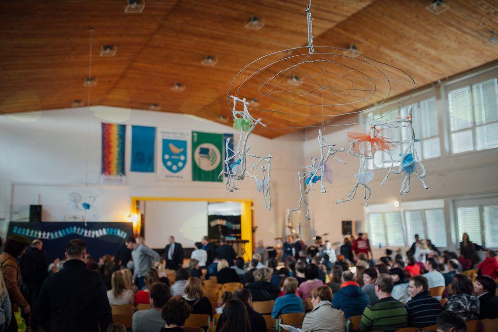 Osrednja prireditev je potekala v četrtek, 5. aprila 2018, v večnamenskem prostoru šole.