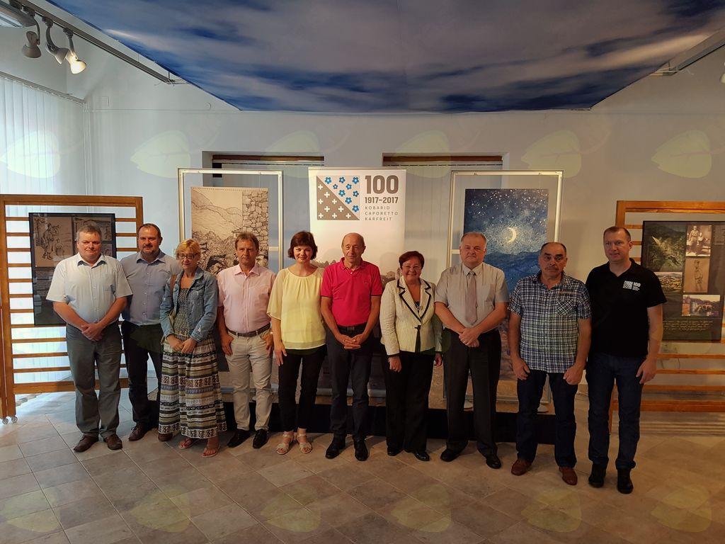 Odprtje razstave Jaroslav Brda na bojiščih prve svetovne vojne