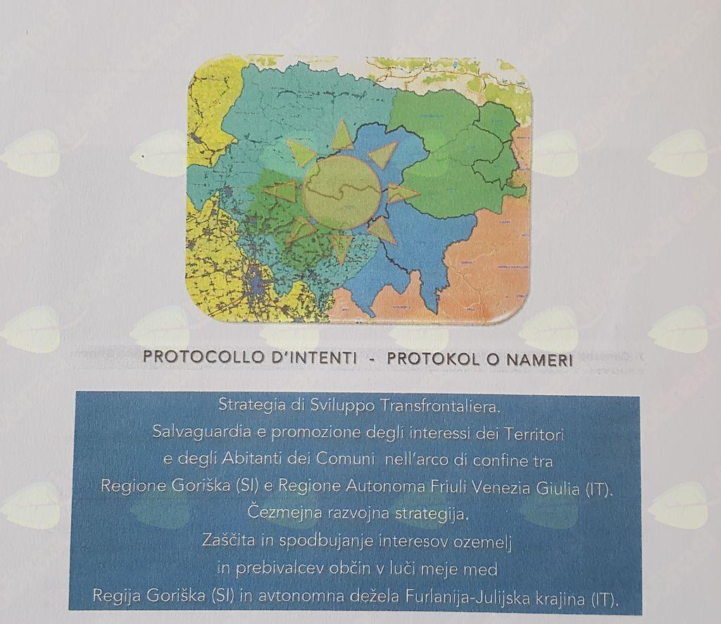 Predstavitev Čezmejne razvojne strategije - spodbujanje teritorialnega razvoja in interesov prebivalcev med občinami