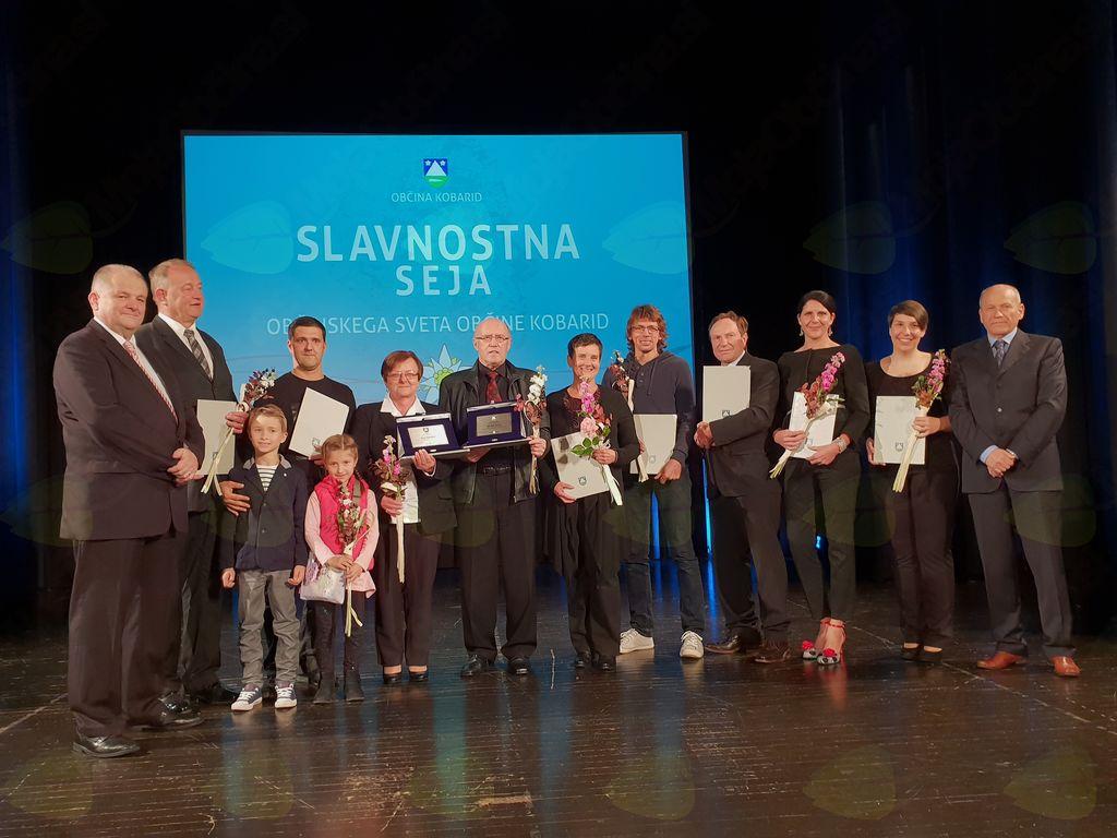 Občinski nagrajenci za leto 2018. Foto: Nataša Hvala Ivančič