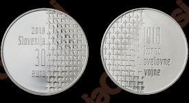 Zbirateljski kovanci ob 100.obletnici konca 1. svetovne vojne
