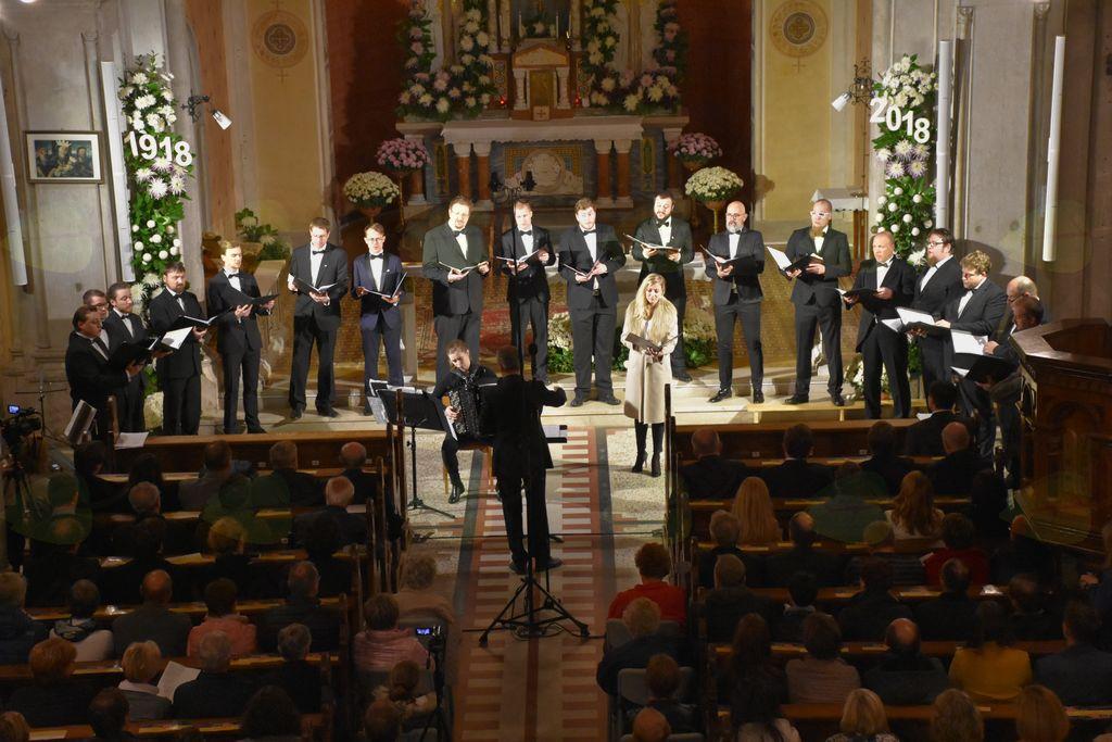 Koncert miru ob 100-letnici konca prve svetovne vojne