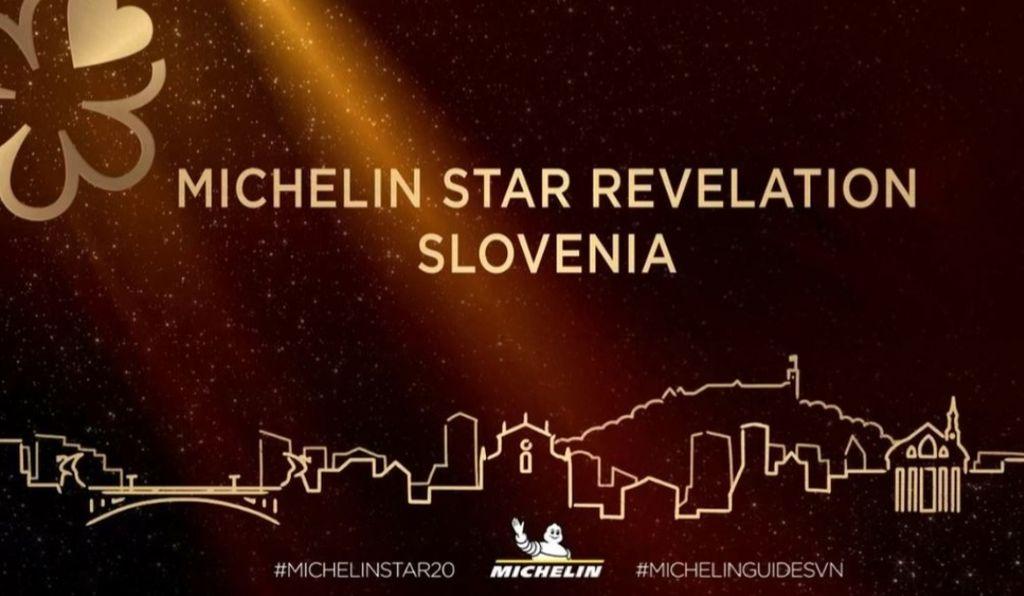 Posnetek zaslona Facebook Michelin Guide Slovenia