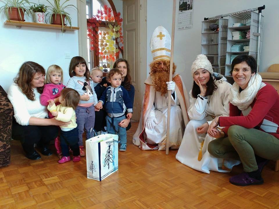 Obiskal nas je sv. Miklavž