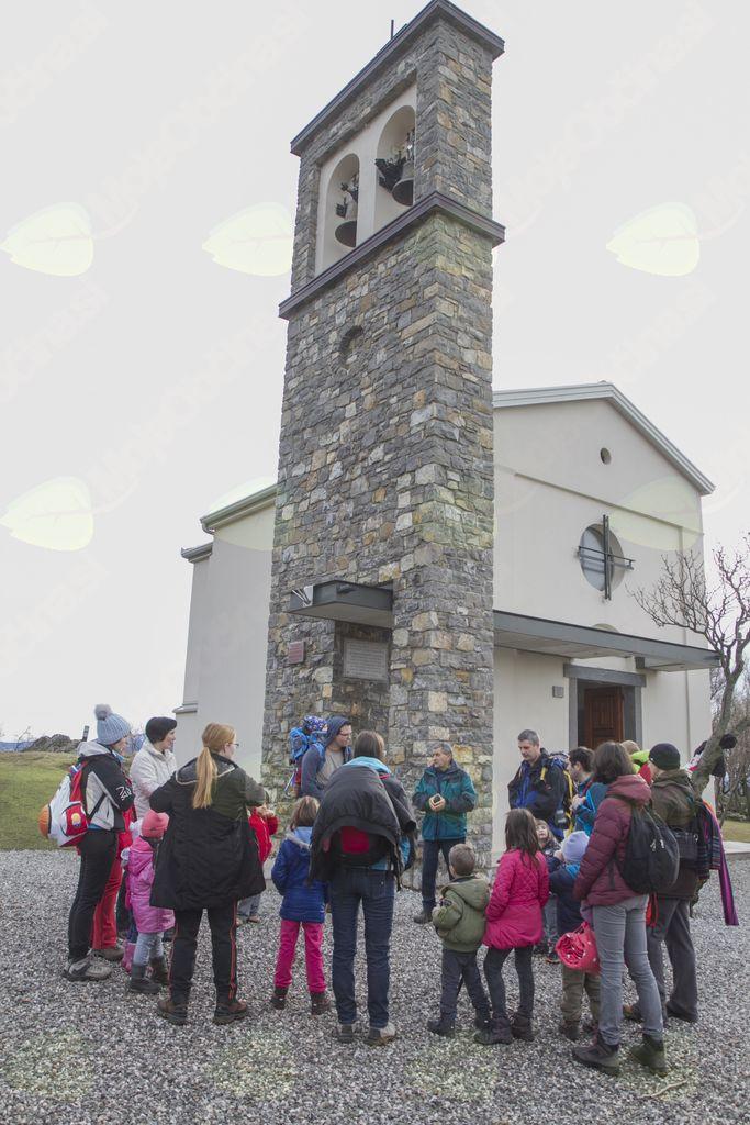Izlet družin na Školj Svetega Pavla in Vipavski Križ