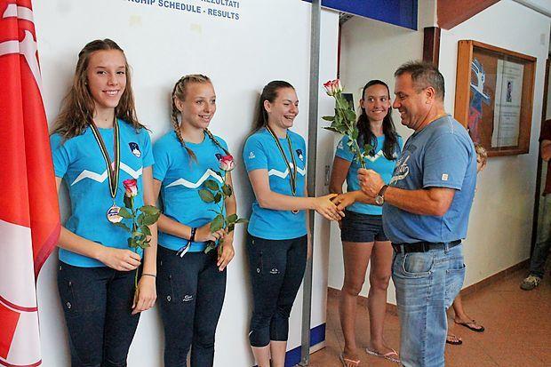 Ivana Štrukelj iz Mirna bronasta na evropskem prvenstvu v kotalkanju