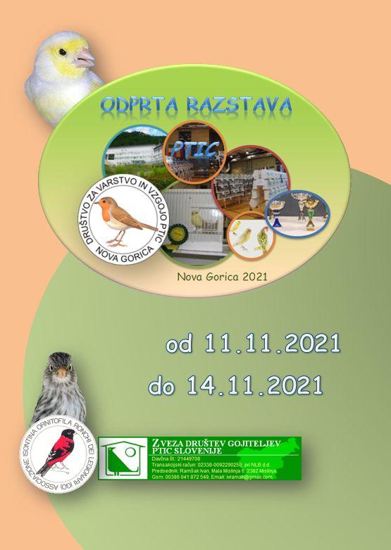 Odprta razstava ptic 2021