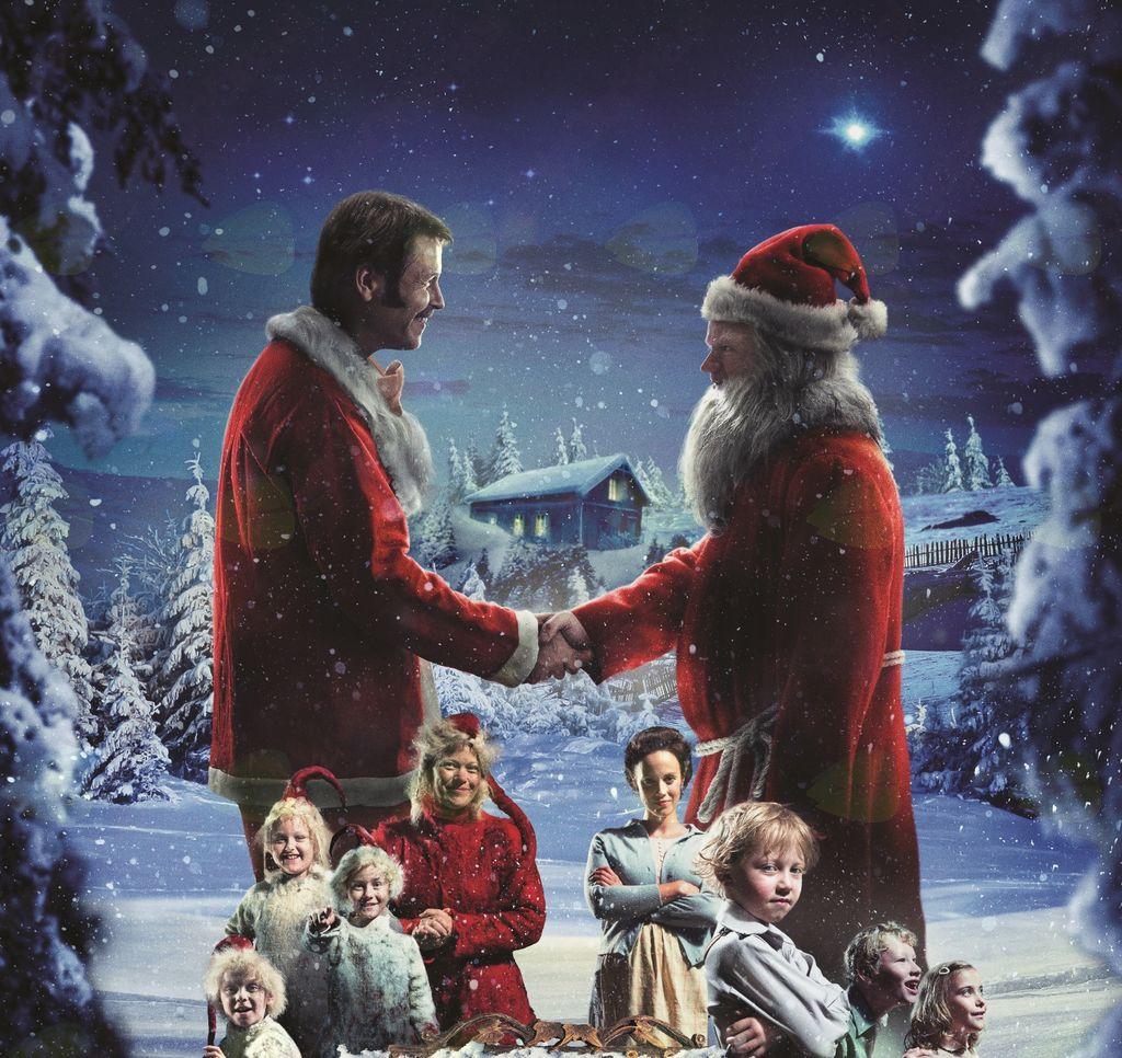 MENJAVA BOŽIČKOV, prisrčna filmska dogodivščina, ustvarjena po najbolj znani norveški božični zgodbi