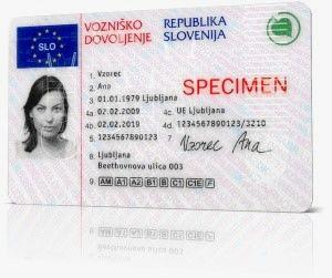 Zamenjava tujega vozniškega dovoljenja