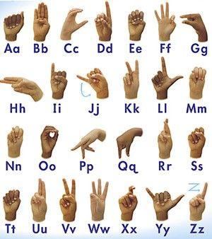Znakovni jezik (kretanje)