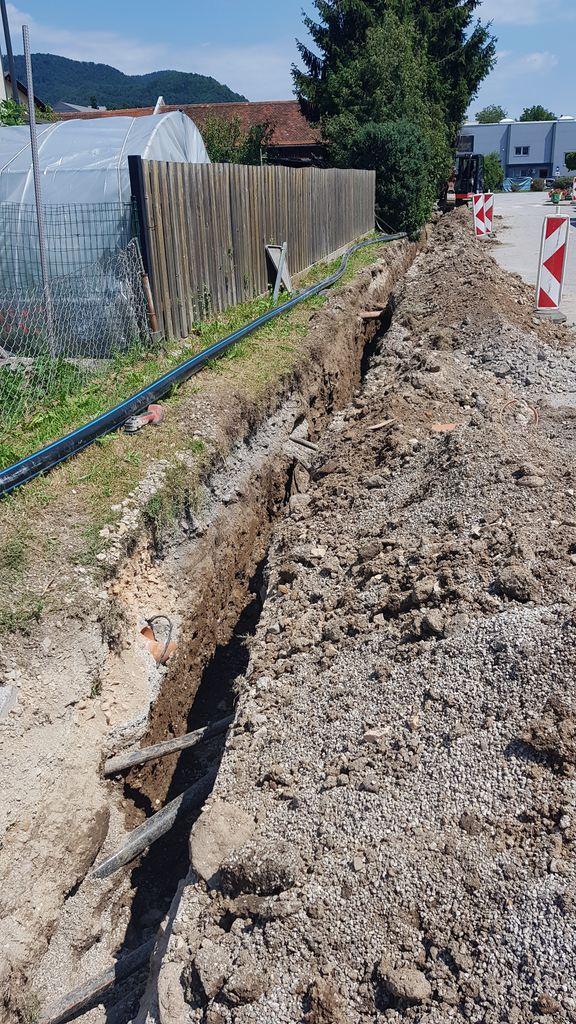 Izgradnja vodovoda Vransko - Pristalič