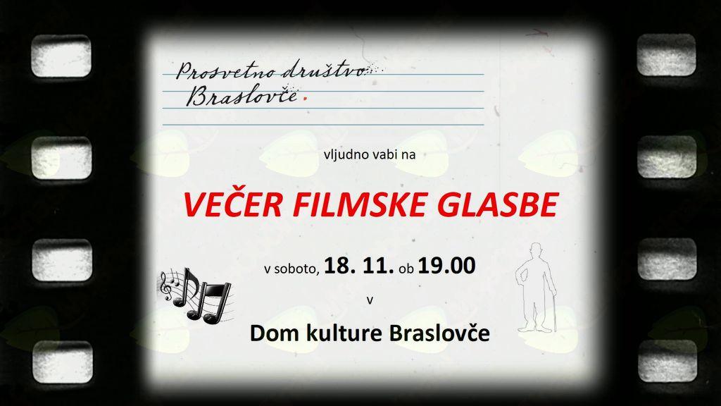 VEČER FILMSKE GLASBE