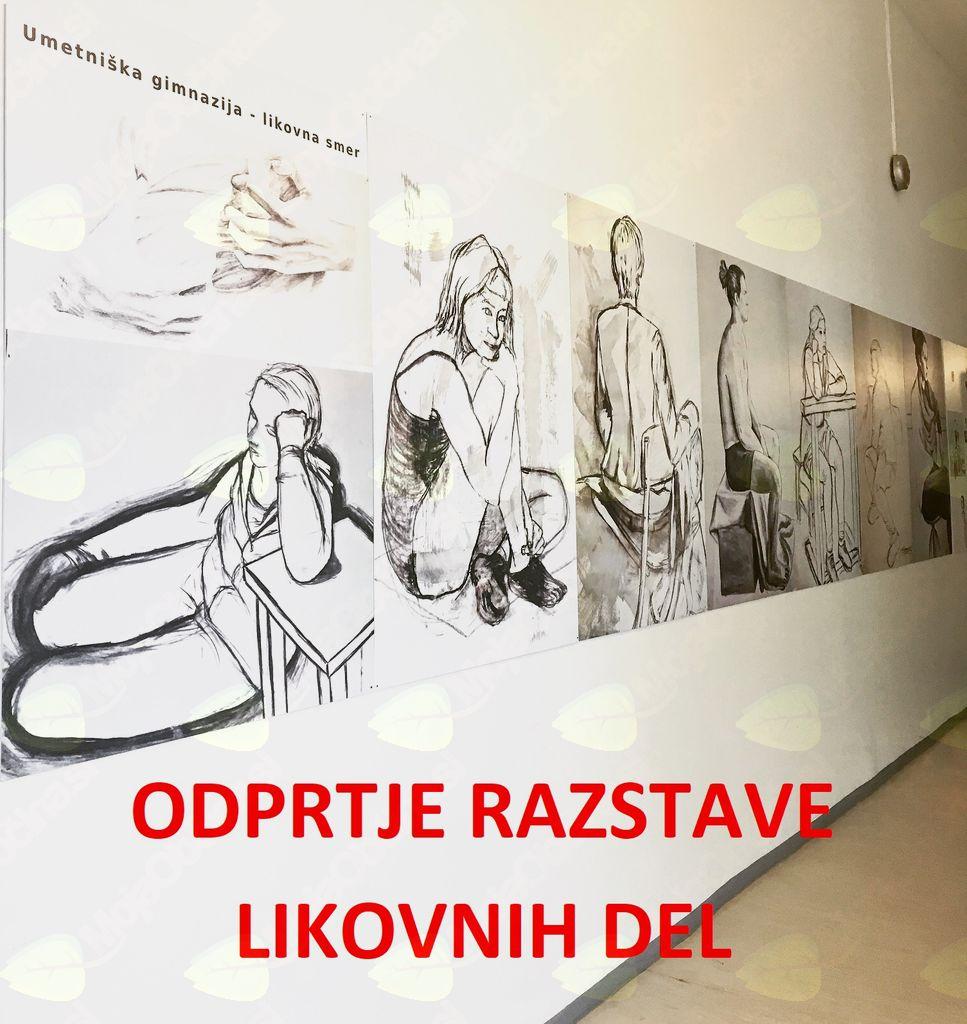 Odprtje razstave likovnih del
